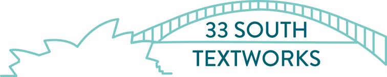 Logo: 33 South Textworks