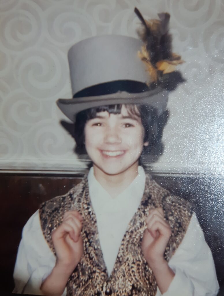 Colette Duggan in her Artful Dodger hat